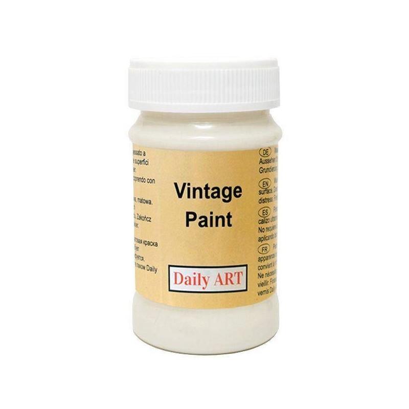 Farba kredowa Daily Art - mleczna biel 100 ml