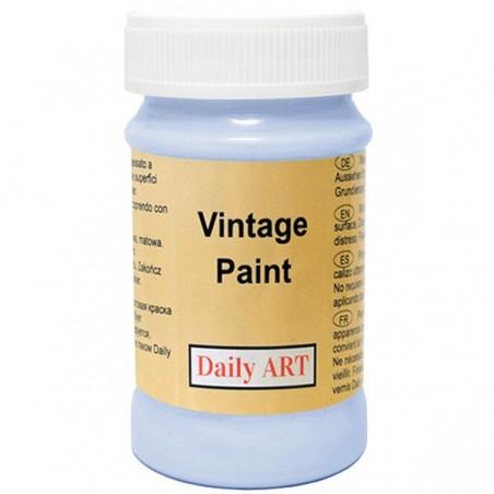 Farba kredowa Vintage, 852 morning blue - poranny błękit, 100 ml [Daily Art]