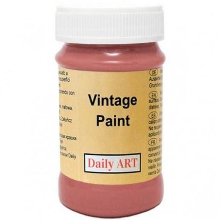 Farba kredowa Vintage, 168 rust - rdzawa, 100 ml [Daily Art]