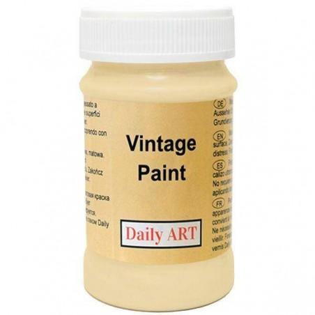 Farba kredowa Vintage, 215 sand - piasek pustyni, 100 ml [Daily Art]