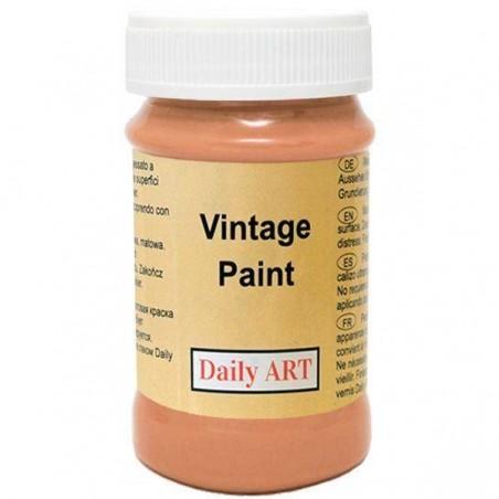Farba kredowa Vintage, 191 terracotta - terakota, 100 ml [Daily Art]