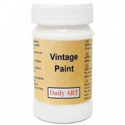 Farba kredowa Vintage Daily Art, pure white - biała  100 ml