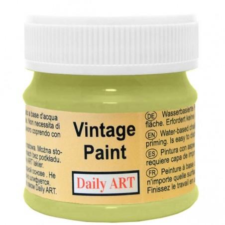 Farba kredowa Vintage, 295 avocado - groszek, 50 ml [Daily Art]