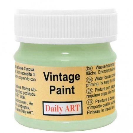 Farba kredowa Vintage, 293 dusty green - pastelowa zieleń, 50 ml [Daily Art]