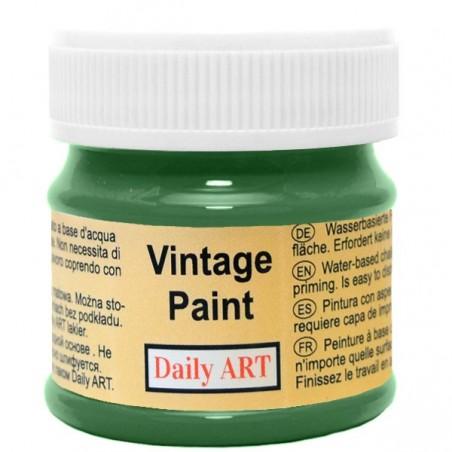 Farba kredowa Vintage, 290 forest green - zieleń lasu, 50 ml [Daily Art]