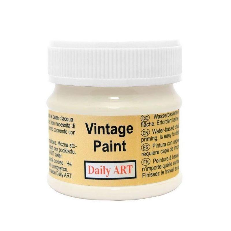 Farba kredowa Vintage Daily Art, milk - mleczna kraina, 50 ml