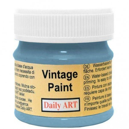 Farba kredowa Vintage, 805 ocean grey - toń oceanu, 50 ml [Daily Art]