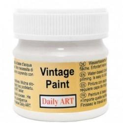 Farba kredowa Vintage Daily Art, pure white - biała  50 ml