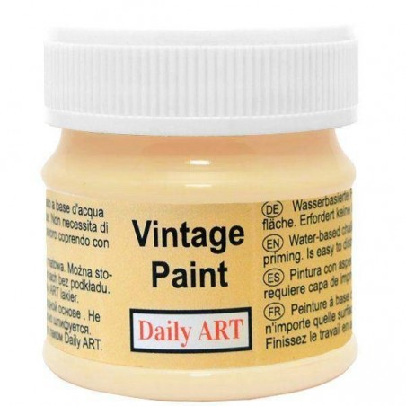 Farba kredowa Vintage, 215 sand - piasek pustyni, 50 ml [Daily Art]