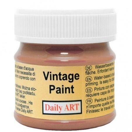 Farba kredowa Vintage, 195 sepia, 50 ml [Daily Art]