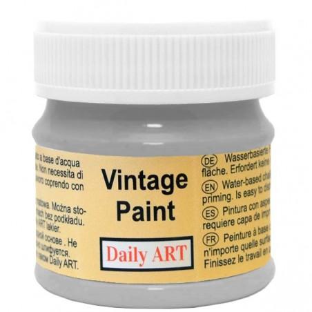 Farba kredowa Vintage, 803 silver grey - stalowa, 50 ml [Daily Art]