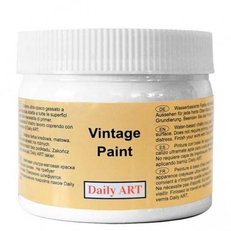 Farba kredowa Vintage, 100 pure white - konwalia, 300 ml [Daily Art]