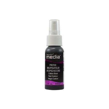 Mgiełka DecoArt Media Misters, DMM08 Carbon Black, 59 ml