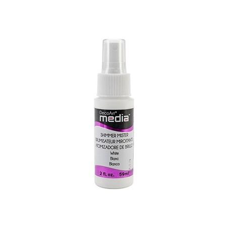 Mgiełka DecoArt Media Misters, DMM12 Shimmer White, 59 ml