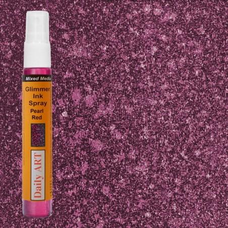 Mgiełka Daily Art, perłowa czerwona - produkty mixed media