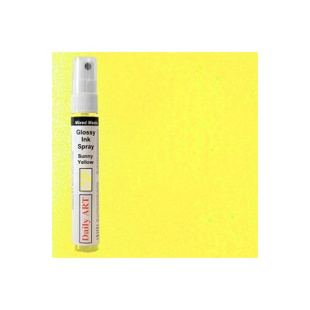 Mgiełka Daily Art, glossy sunny yellow - produkty mixed media