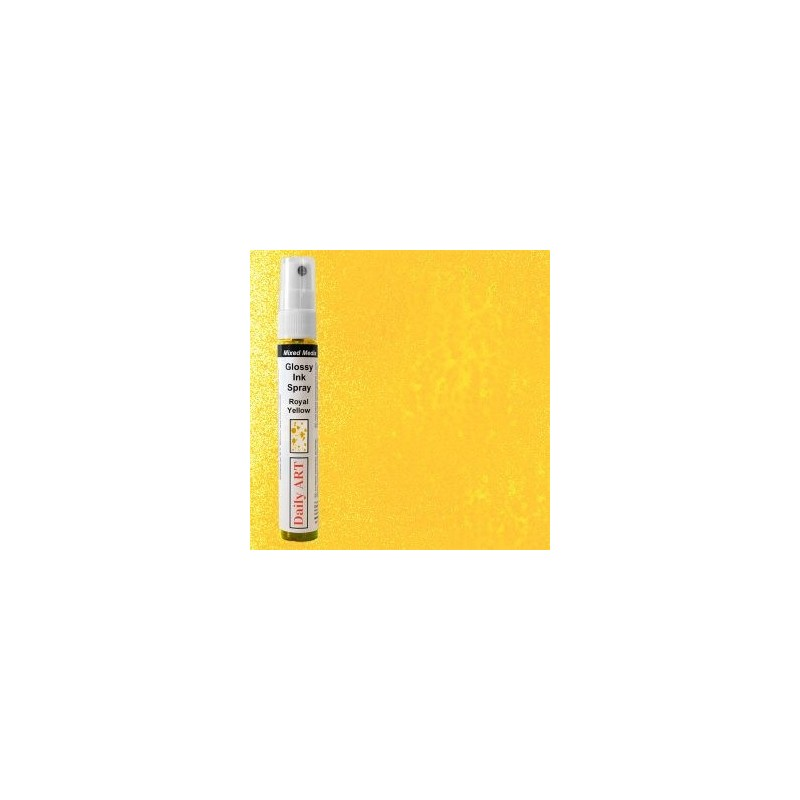 Mgiełka Daily Art, royal yellow - produkty mixed media