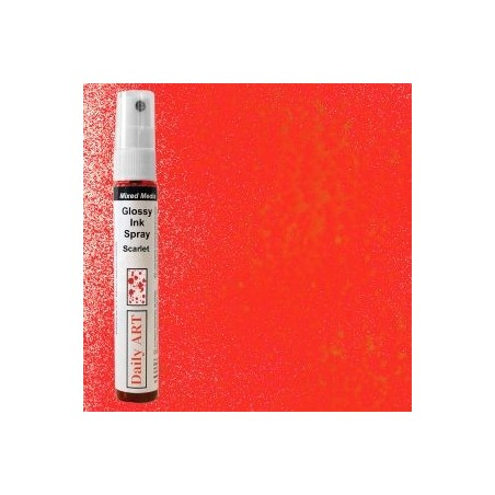 Mgiełka Daily Art, glossy scarlet - produkty mixed media