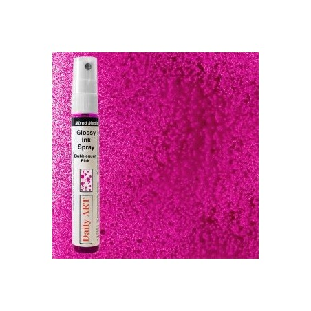 Mgiełka Daily Art, glossy bubblegum pink - produkty mixed media