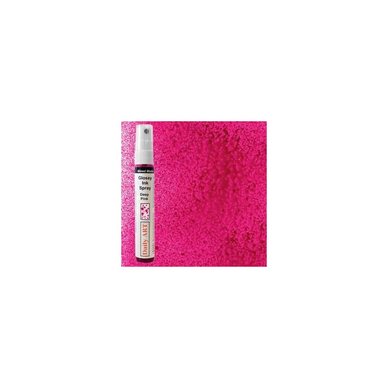 Mgiełka Daily Art, glossy deep pink - produkty mixed media