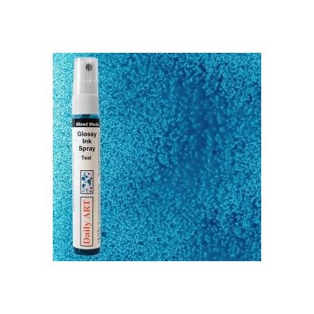 Mgiełka Daily Art, glossy teal - produkty mixed media