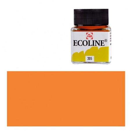 Farba akwarelowa w płynie, Ecoline 237 Deep Orange, 30 ml