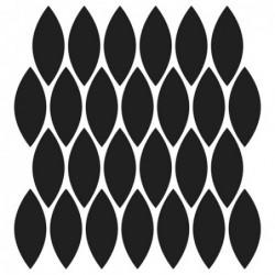 Maska - szablon do technik mixed media, Crafter's Workshop - Blazonry - tło - siatka