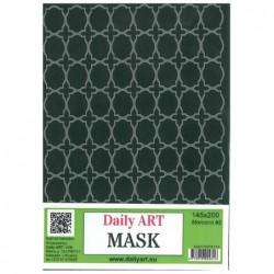Maska Daily Art, format A5, motyw - ornament orientalny Morocco - wersja 2