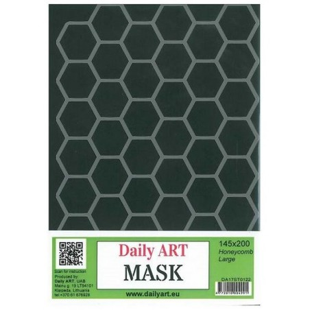 Maska Daily Art, format A5, motyw - plaster miodu