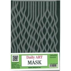 Maska Daily Art, format A5, motyw - trawa morska