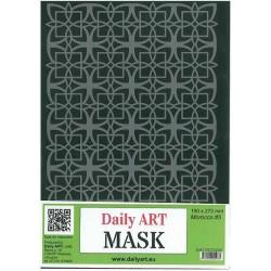 Maska Daily Art, format A4, tło marokańskie wz. 5
