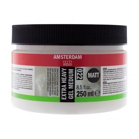 Medium żelowe, Extra heavy gel medium Amsterdam, 250 ml matowe