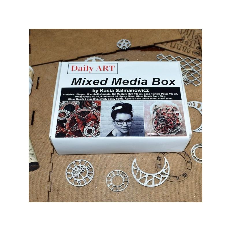 Zestaw kreatywny Mixed Media - Daily Art - Kasia Salmanowicz