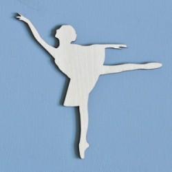 Ozdoba ze sklejki, Baletnica AD055