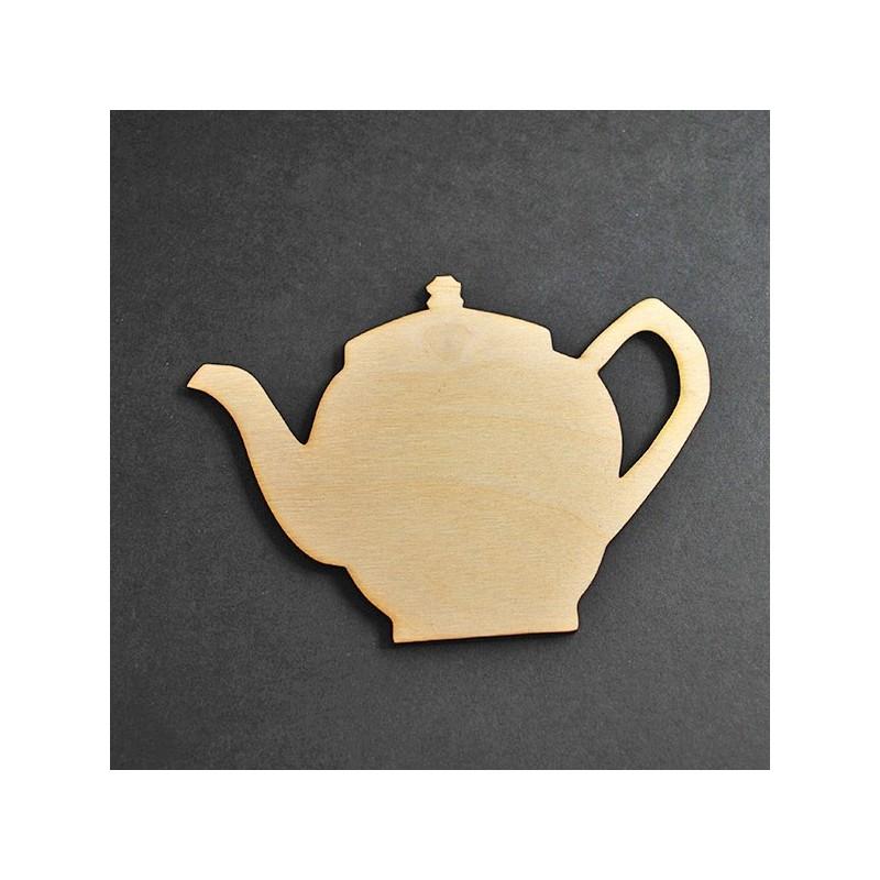 Ozdoba ze sklejki Eko-deco - czajniczek