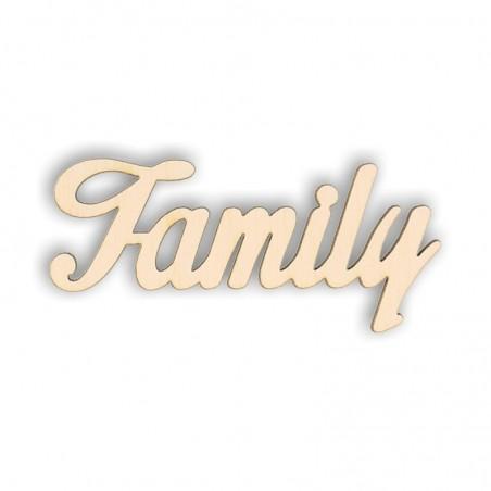 Napis ze sklejki Family ND57-M