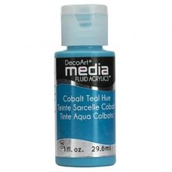 Fluid akrylowy DecoArt, Cobalt Teal Hue - turkusowy, DMFA10