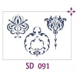 Szablon FF 21x30 SD091