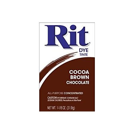 Barwnik do tkanin, Rit Dye Powder, Cocoa Brown Chocolate