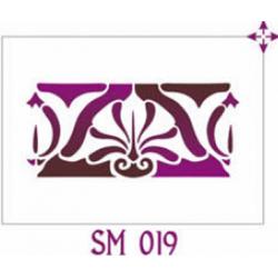 Szablon FF 15x21 SM019