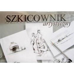 Szkicownik artystyczny A5, 100 kartek / Kreska