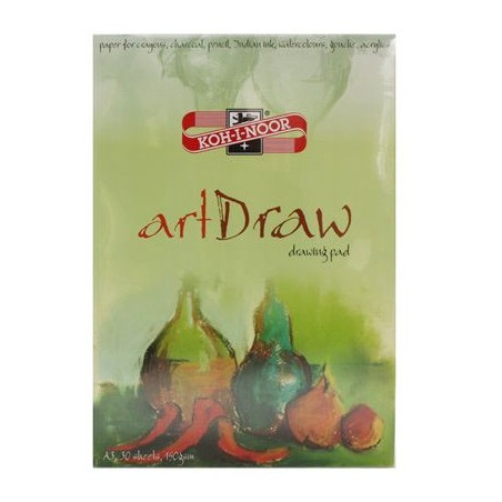 Blok rysunkowy Koh-I-Noor A4, 50 arkuszy