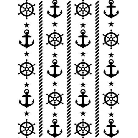Folder do embossingu 1219-209 [Darice], Nautical Theme