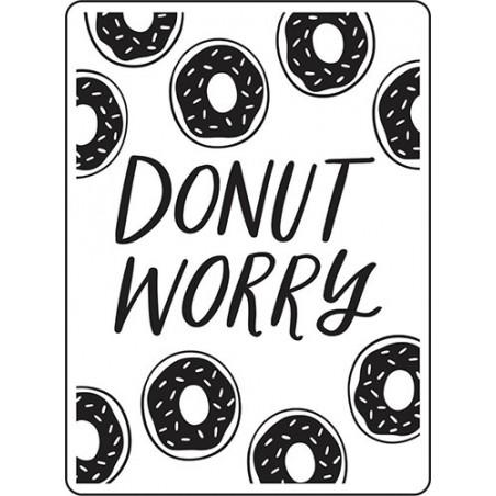 Folder do embossingu 30023118 [Darice], Donut Worry