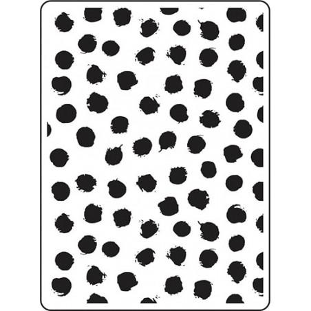 Folder do embossingu 30023109 [Darice], Blot Dot Background