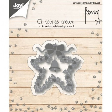 Wykrojnik Joy, Christmas Crown [6002/1139]