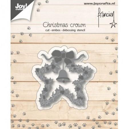 Wykrojnik Joy, Christmas Crown 6002/1139 WYPRZEDAŻ