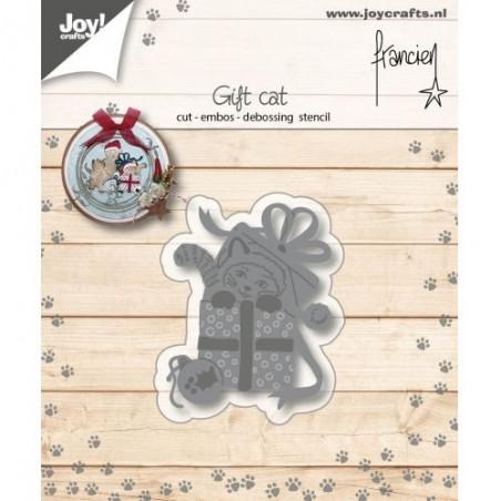 Wykrojnik Joy, Gift Cat [6002/1140]