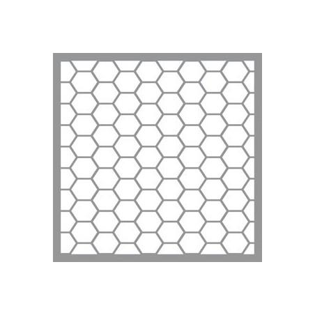 Szablon 30.5x30.5, Americana Decor Stencil, Honeywire [ADS14]