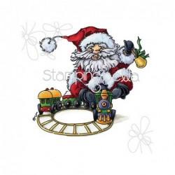 Stempel gumowy Stamping Bella Santa Express